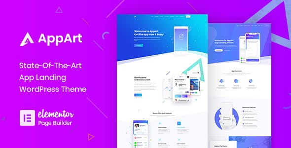 AppArt - Creative WordPress Theme For Apps Saas