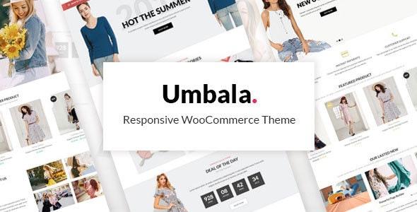 Umbala - Fashion & Clothing Store WooCommerce Theme - WooCommerce eCommerce