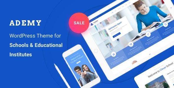 Education WordPress Theme - Ademy - Education WordPress