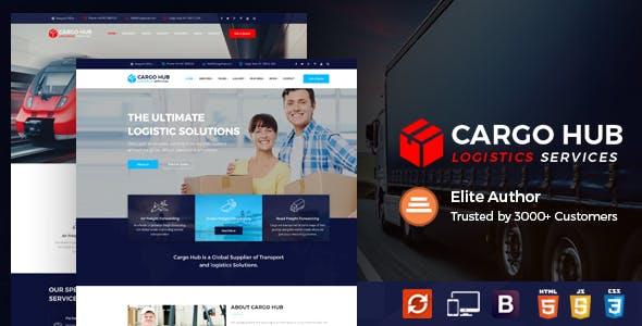 Cargo HUB - Logistics HTML Template