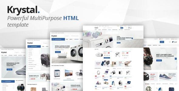 Krystal - Multipurpose ECommerce HTML Template