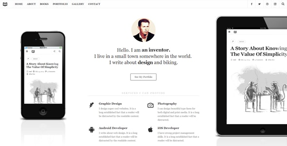 Readme - A Readable WordPress Theme - Personal Blog / Magazine