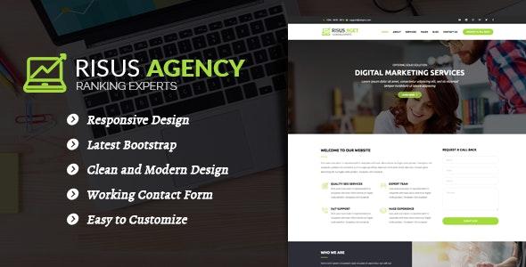 Risus Agency - SEO and Digital Marketing WordPress Theme - Marketing Corporate