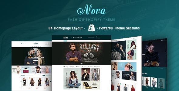 Nova - Fashion, Clothing & Accessories Shopify Theme - Fashion Shopify