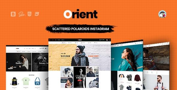 Orient – Fashion, Clothing & Accessories PrestaShop 1.7 Theme - Fashion PrestaShop