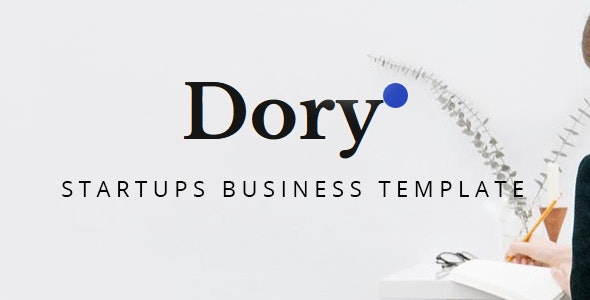 Dory – Bootstrap 4 Startups Business Template - Corporate Site Templates