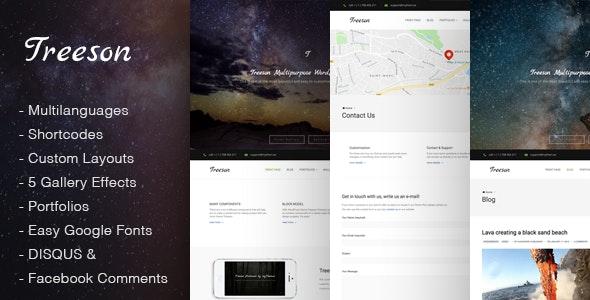 Treeson - Multipurpose WordPress Theme - Miscellaneous WordPress