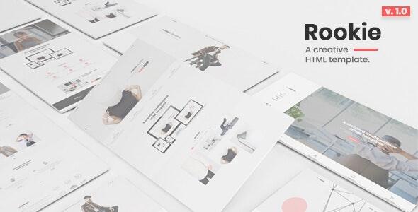 Rookie - Responsive Multipurpose HTML5 Template - Creative Site Templates