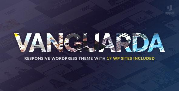 Vanguarda - Responsive Multi-Purpose WordPress Theme - Creative WordPress