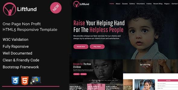 Liftfund | Nonprofit HTML5 Template - Charity Nonprofit