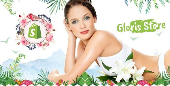GLOWRIS | Beauty spa Shopify Theme