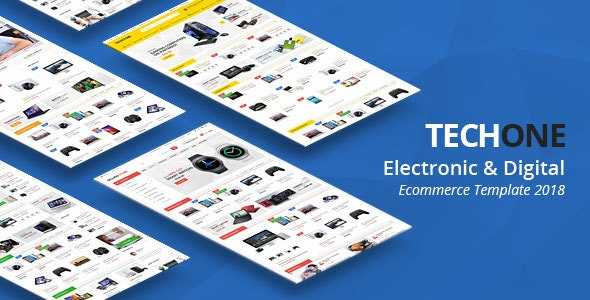 Techone - Multipurpose HTML Template - Shopping Retail
