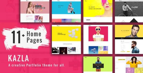 Portfolio Kazla - Portfolio for Freelancers & Agencies - Portfolio Creative
