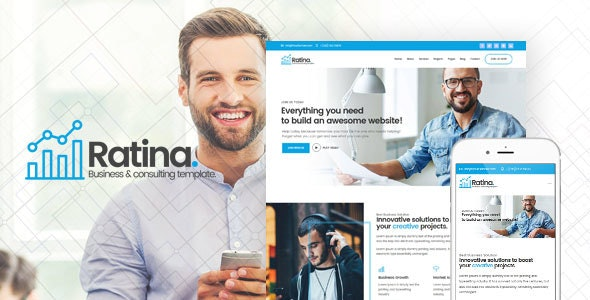Ratina - Business and Consulting HTML Template - Business Corporate
