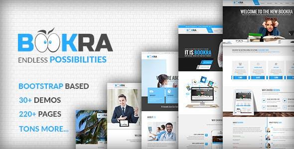 BOOKRA | Multi-Purpose HTML5 Template