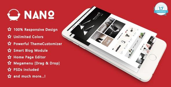 Nano - Minimalist Furniture Responsive PrestaShop 1.7 Theme - Shopping PrestaShop