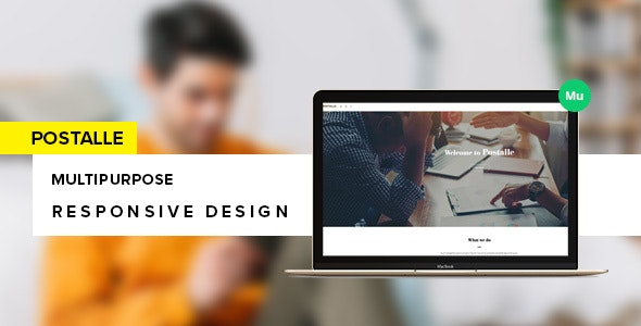 Postalle Muse Template - Creative Muse Templates