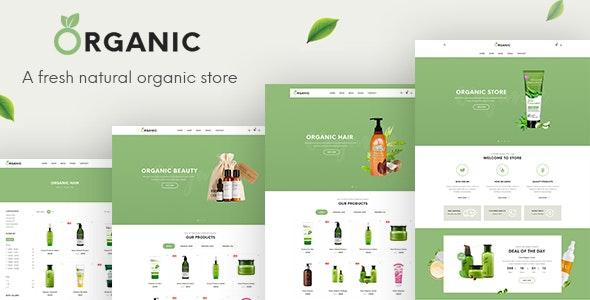 Organic - Beauty Responsive Prestashop 1.7 Theme - Health & Beauty PrestaShop