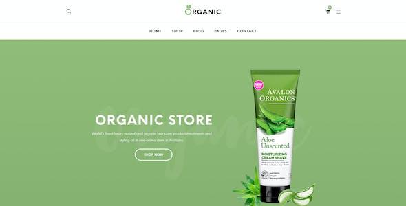 Organic - Beauty Responsive Prestashop 1.7 Theme