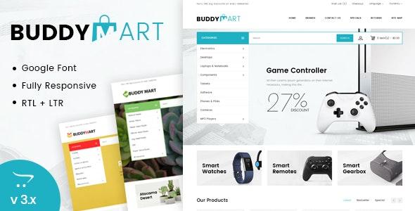 Buddymart Opencart Responsive Theme - Shopping OpenCart