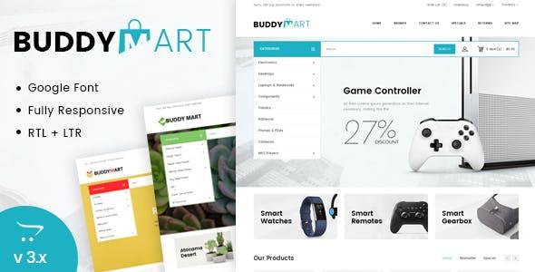 Buddymart Opencart Responsive Theme