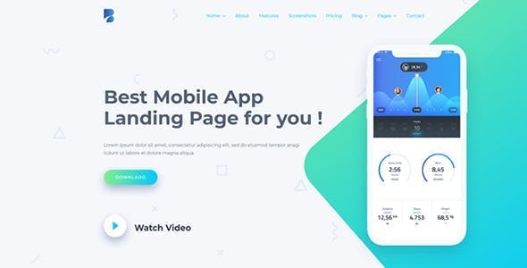 Bufet - Multi-Concept App, Saas and Software Landing Page