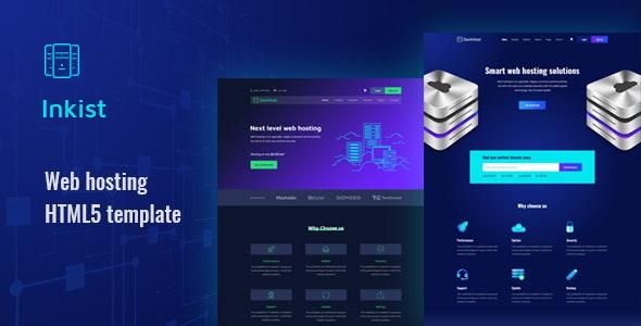 Inkist - Web Hosting HTML 5 Template - Hosting Technology