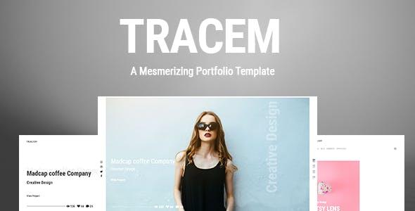 Tracem - A Mesmerizing Portfolio Template