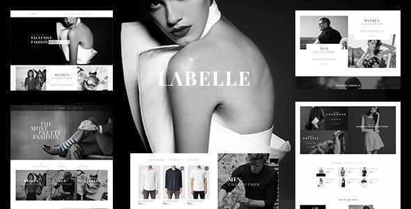 Clothing & Fashion Shopify Theme - Labelle - Fashion Shopify