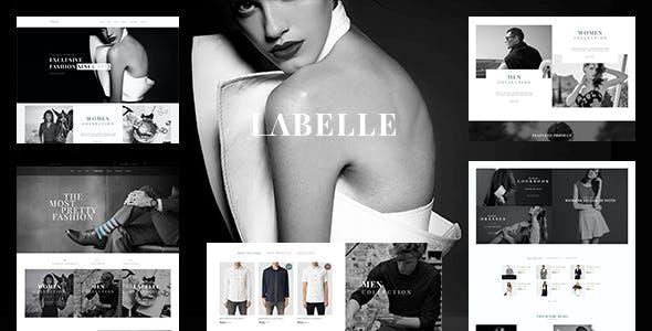 Clothing & Fashion Shopify Theme - Labelle