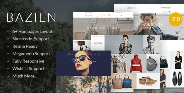 Bazien - Shopify Retina Theme