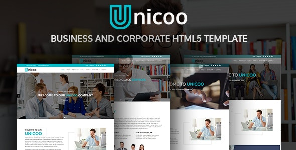 Unicoo | Business And Corporate HTML5 Template - Business Corporate