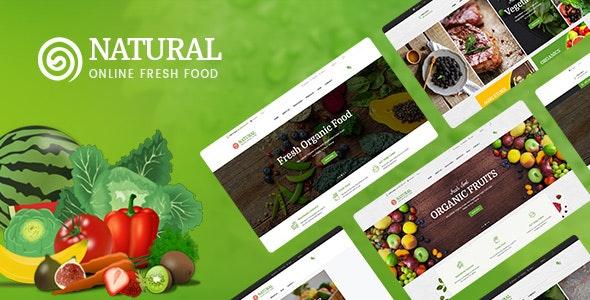 Pts Natural – Fresh Organic Prestashop Food Theme 1.7 - PrestaShop eCommerce