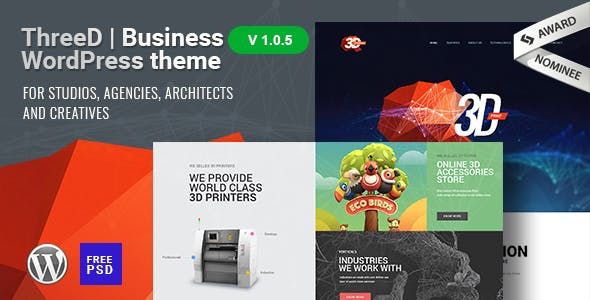 Packaging Printing Website Templates from ThemeForest
