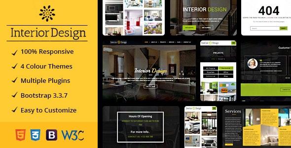 Studio Ux | Interior Design Website Mulitpurpose HTML5 Template - Art Creative