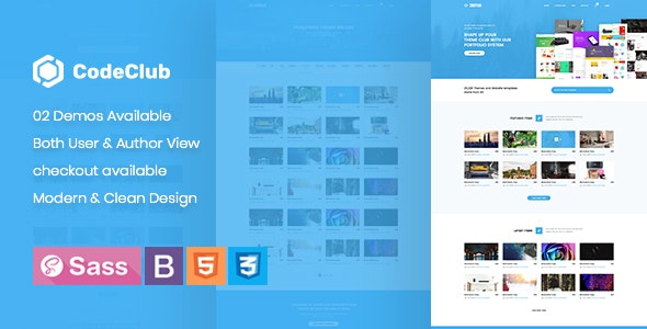CodeClub - Product Showcase HTML5 Template - Technology Site Templates
