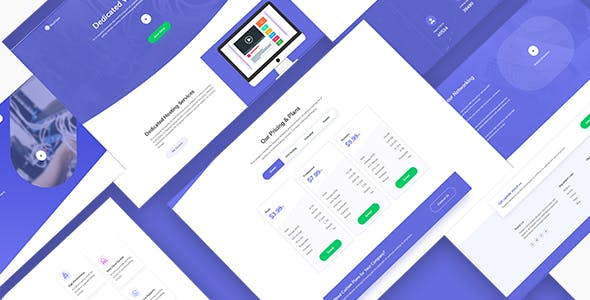 MunHost - Hosting and Domain PSD Template