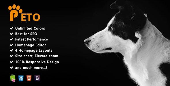 Peto Pet Shop - Responsive Multipurpose Prestashop 1.7 Theme - Shopping PrestaShop