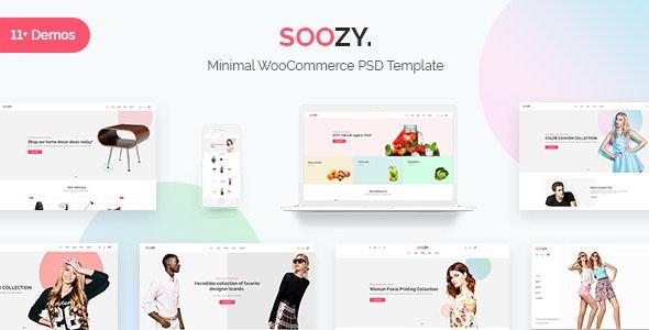 Soozy | Minimalist WooCommerce Psd Template - Shopping Retail