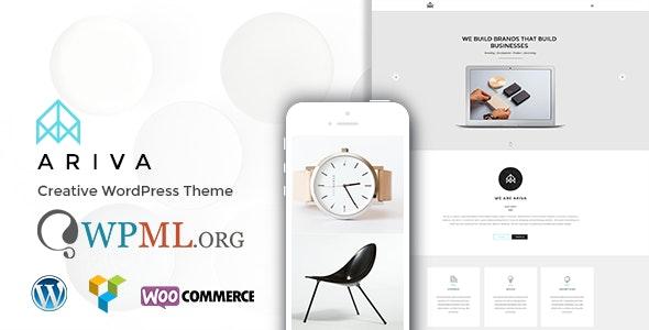 Ariva - Onepage for Team, Band, Group, Company - Creative WordPress