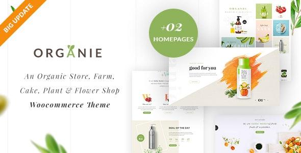Organie - Organic Store & Food WooCommerce Theme - WooCommerce eCommerce