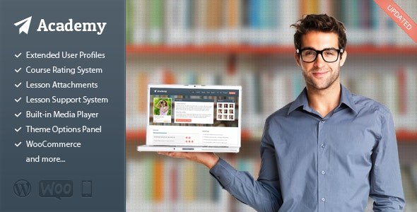 Academy - Learning Management Theme - Education WordPress