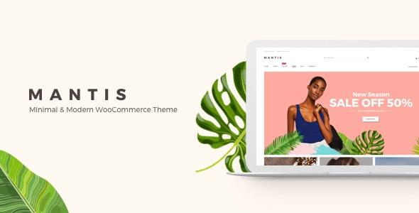 Mantis - Minimal & Modern WooCommerce Theme - WooCommerce eCommerce