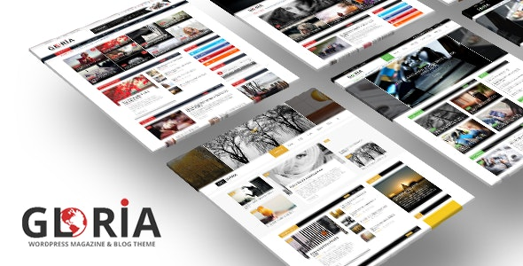 Gloria - Responsive eCommerce News Magazine Newspaper WordPress Theme - WooCommerce eCommerce