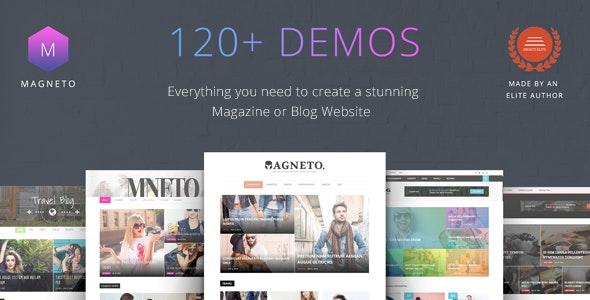 Magneto - ECommerce Multi Concept Newspaper / News / Magazine / Blog WordPress Theme - News / Editorial Blog / Magazine
