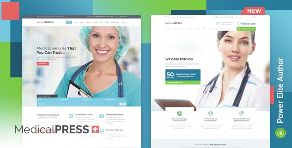 MedicalPress - Health WordPress Theme - Health & Beauty Retail