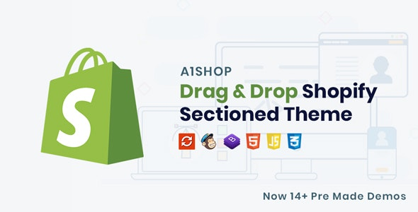 A1Shop - Responsive & Multipurpose Sectioned Drag & Drop Shopify Theme - Fashion Shopify