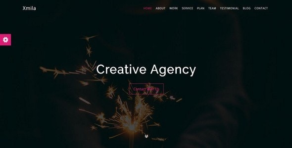 Xmila - One Page Creative Template - Site Templates