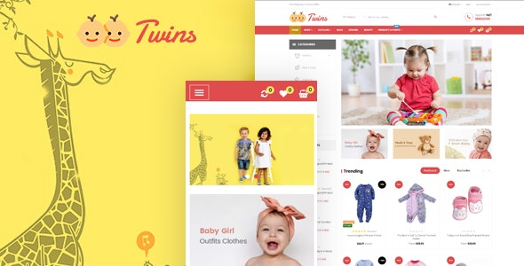 Leo Twins - Amazing Baby Store Prestashop Theme - Shopping PrestaShop