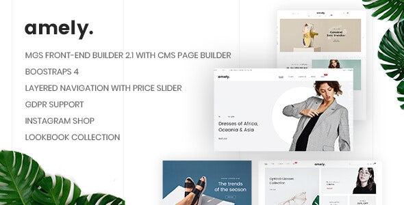 Amely - Clean & Modern Magento 2 Theme - Magento eCommerce